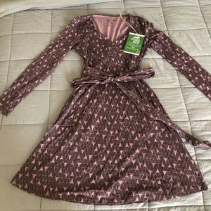 Toad&co wrap style dress! Size Sm